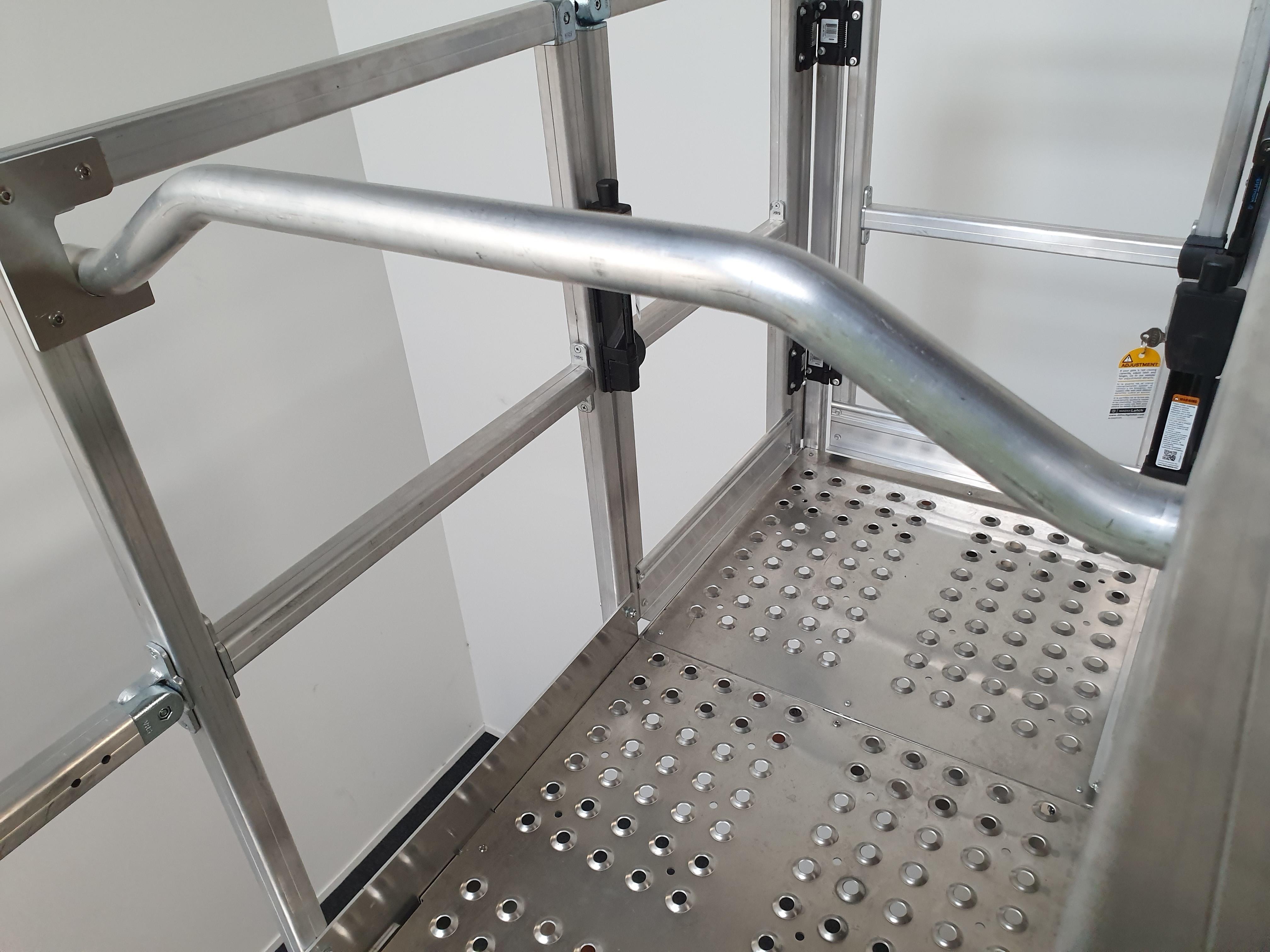 Hinged Safety Bar