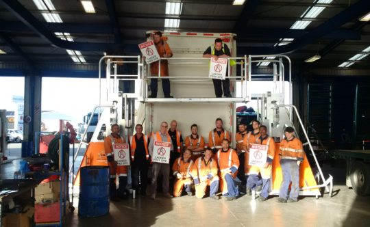 Truck Stops Napier Branch